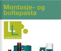 Lindberg & Lund - Montasje - og boltepasta