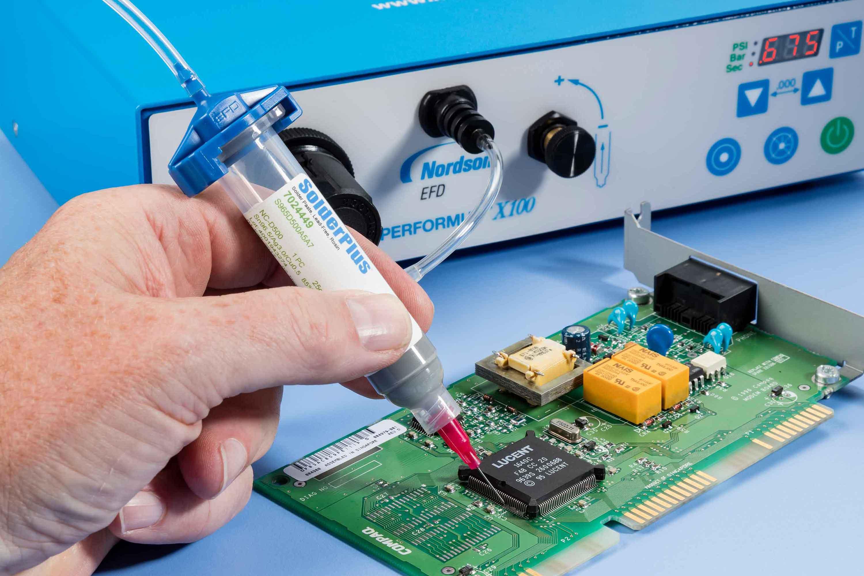 Elektronikk-dispensering