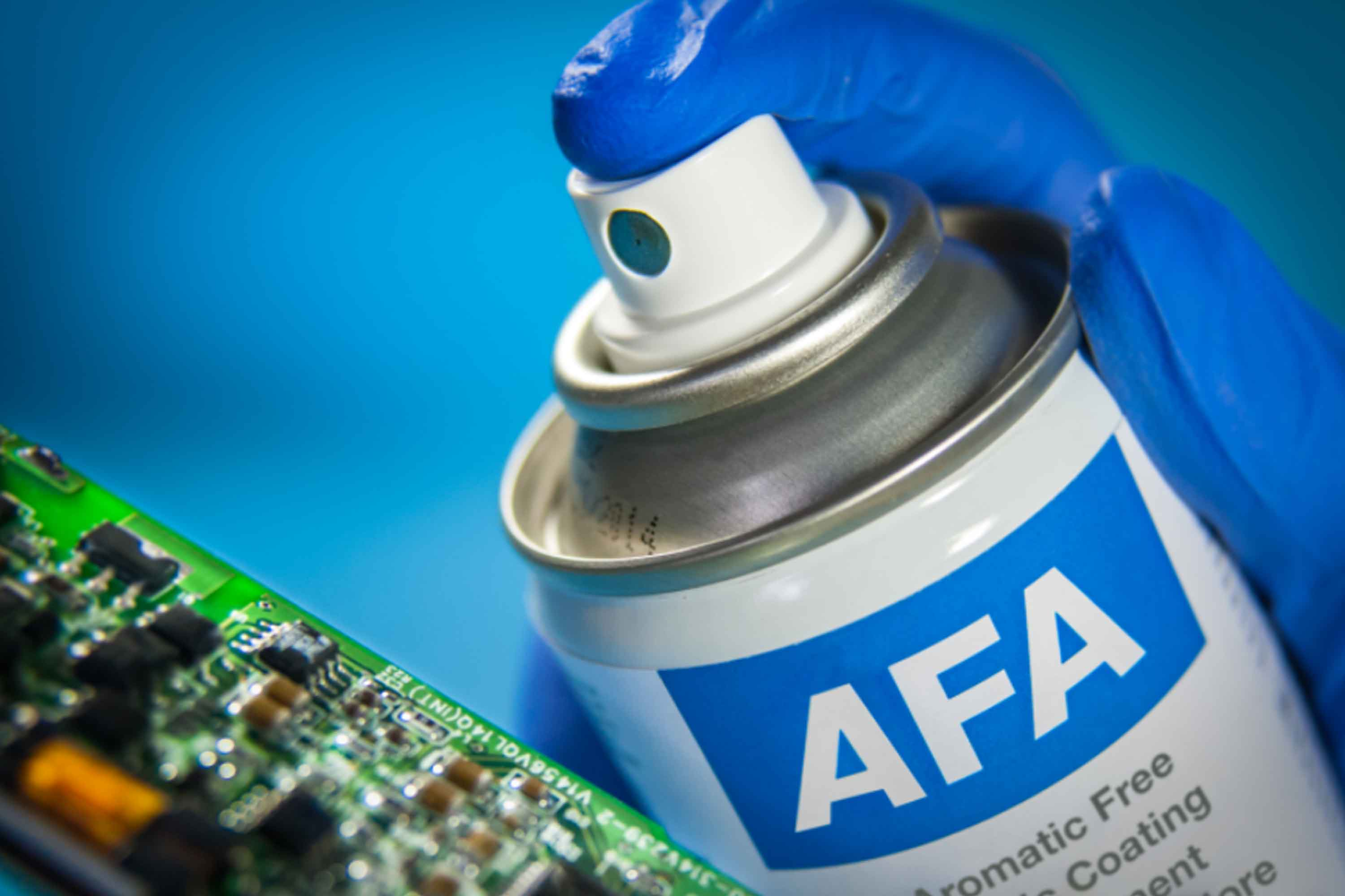 Elektronikk-lakk-conformal-coating