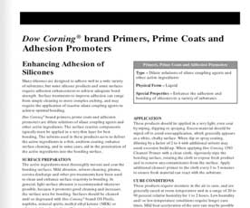 Dow-Corning-Primers-Prime-Coats-and-Adhesion-Promoters