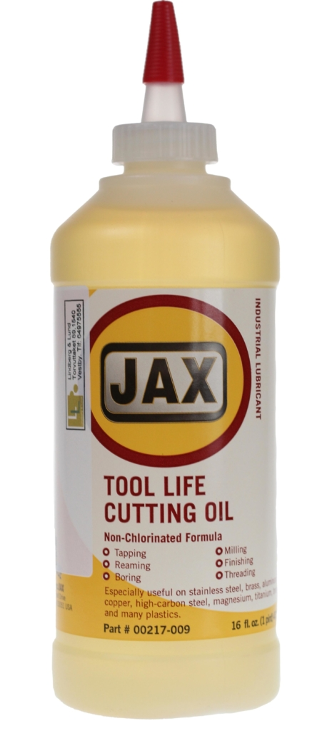 JAX TOOL LIFE CUTTING FLUID 16 OZ 475ML