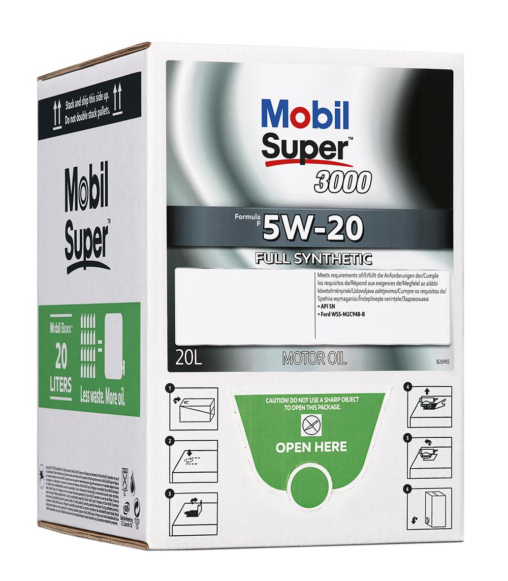 Mobil Super 3000 Formula F 5W-20, BIB 20L
