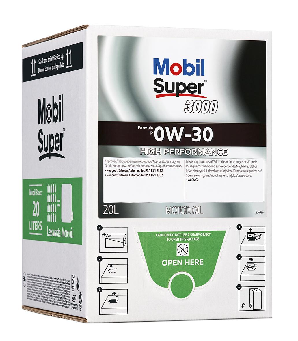 Mobil Super 3000 Formula P 0W-30, BIB 20L