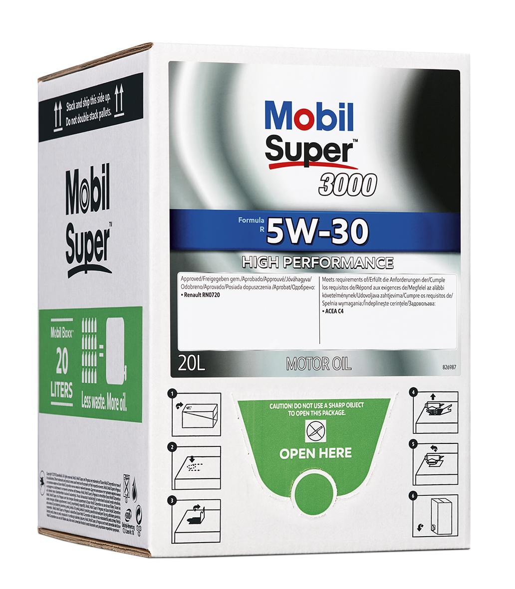 Mobil Super 3000 Formula R 5W-30, BIB 20L