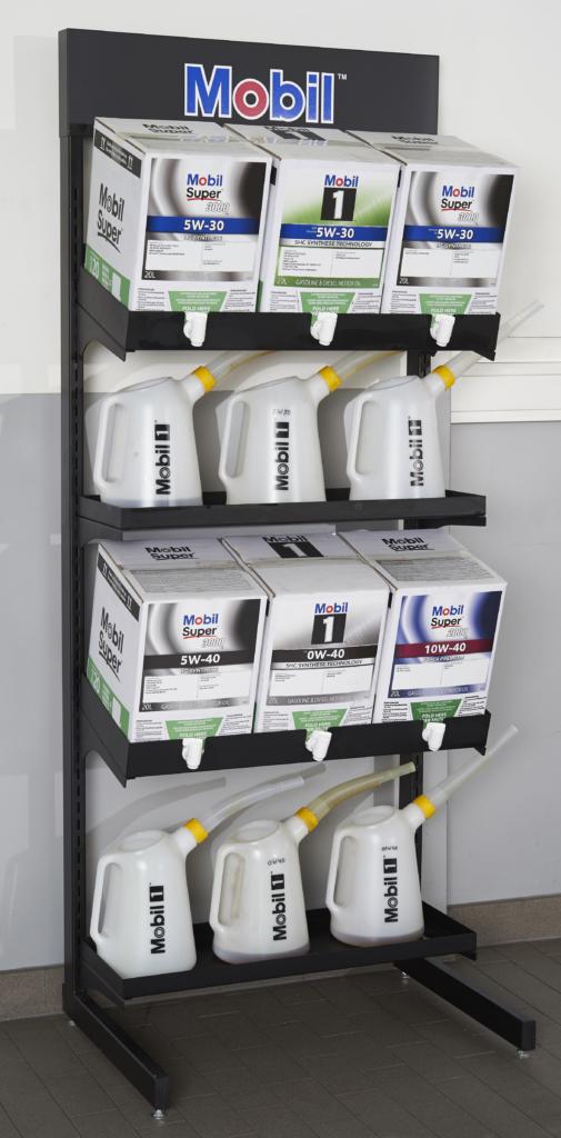 Oil Dispenser Rack Mobilboxx