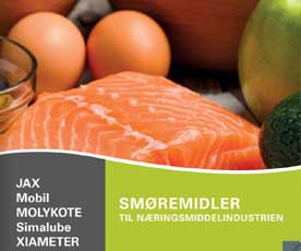Smøremidler til næringsmiddelindustrien